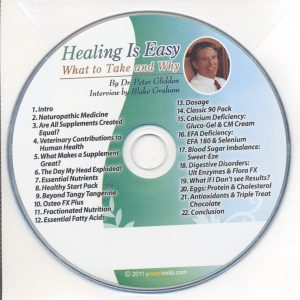 Healing is Easy by Dr. Peter Glidden