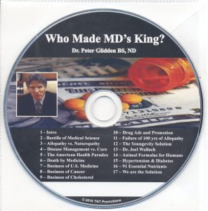 Dr. Peter Glidden CD Who Made MD's King